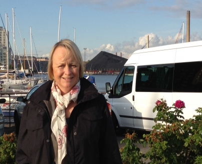Sue Roberts in Finland