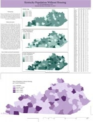 Kentucky Population Without Housing, by Hannah McClure
